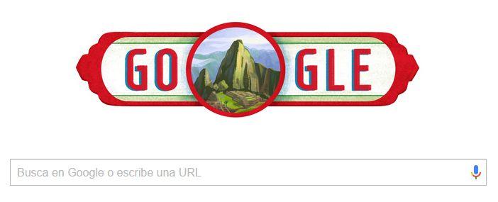 Fiestas Patrias: Google rinde homenaje Día Independencia del Perú 2016