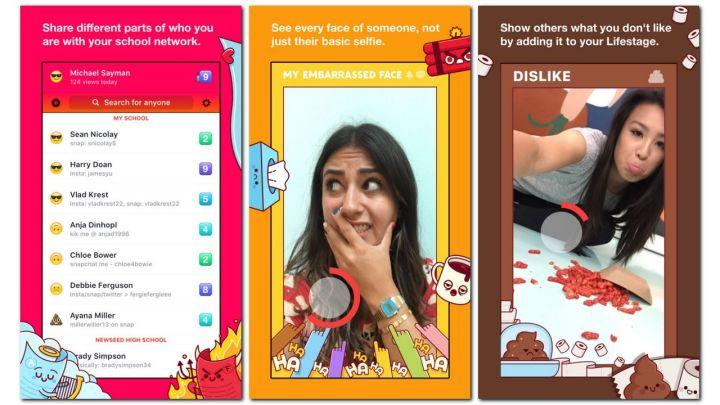 Lifestage, la app de Facebook para adolescentes