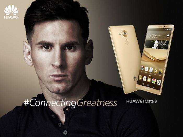 Huawei Mate 8 edición Lionel Messi