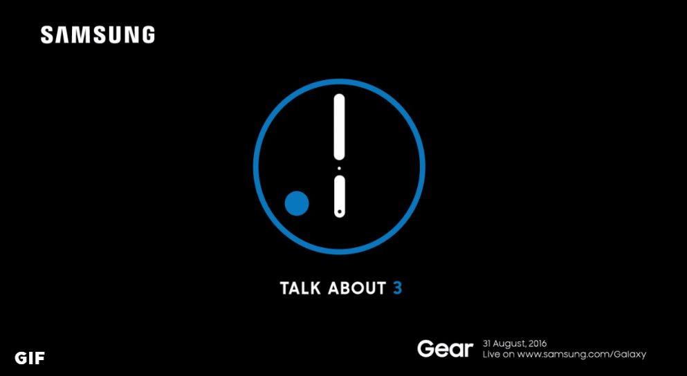 Samsung Gear S3 será lanzado el 31 de agosto