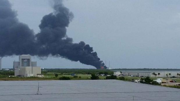 Satélite de Facebook fue destruido por explosión del SpaceX