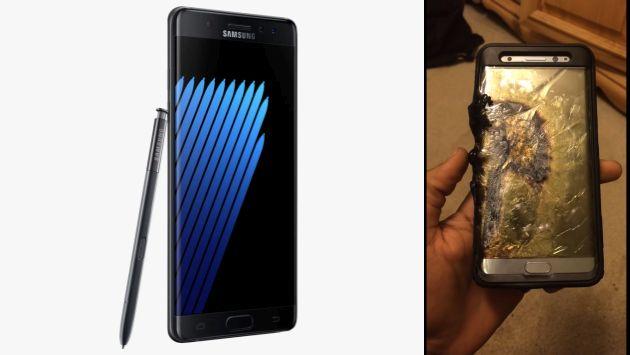 Samsung pide a usuarios devolver el Galaxy Note 7