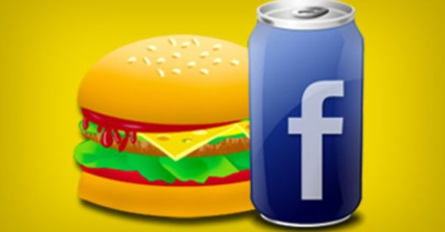 Facebook te permite pedir comida a domicilio