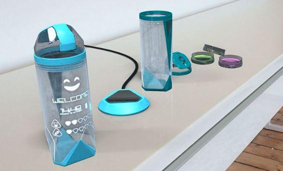 Crean vaso inteligente que ayuda a controlar el azúcar
