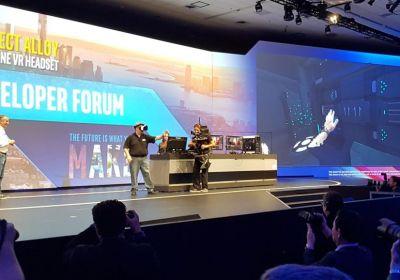Intel presentó sus gafas de realidad virtual