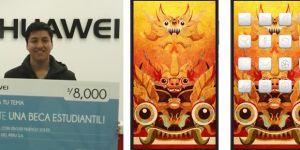 Huawei premia a estudiante por crea primer fondo de pantalla con diseño peruano