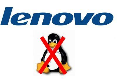 Ya no se puede instalar Linux en nuevas laptops Lenovo