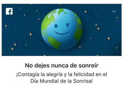 Facebook : Día internacional de la sonrisa