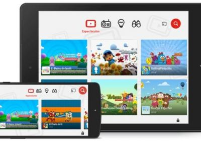 YouTube Kids disponible en Perú